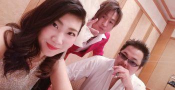 今日は帝国ホテル大阪!